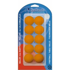 Blisterpak met 10x oranje bal voor intensief gebruik