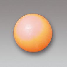Oranje bal plastic voor intensief gebruik. Setprijs per 10 stuks