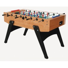 Garlando voetbaltafel G-2000 in Cherry wood